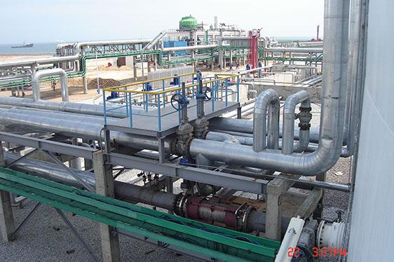 广西天盛港务公司LPG码头电气仪表工程
